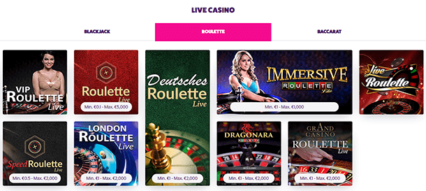 Frank & Fred Casino Live Casino
