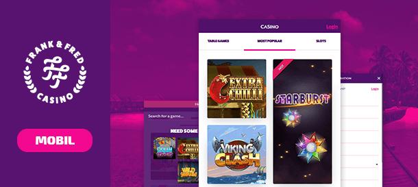 Frank & Fred Casino Mobile Casino App