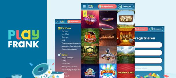 PlayFrank Casino Mobile Casino