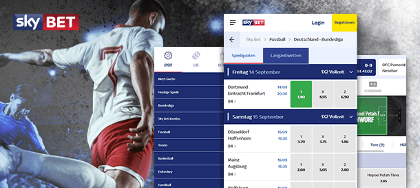 Sky Bet Sportwetten App