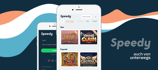 Speedy Casino Mobile Casino App