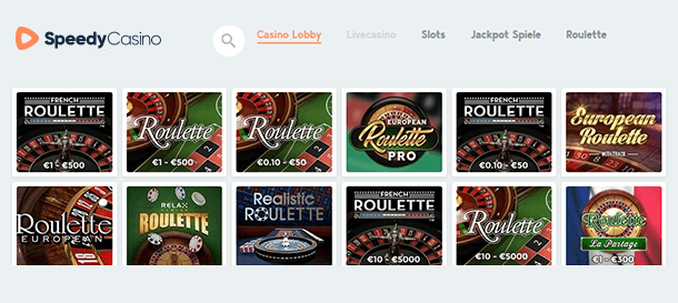 Speedy Casino Roulette