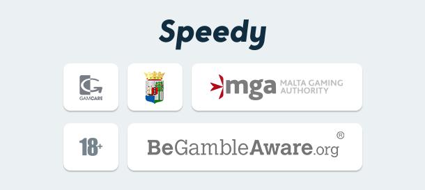 Speedy Casino Sicherheit & Lizenz