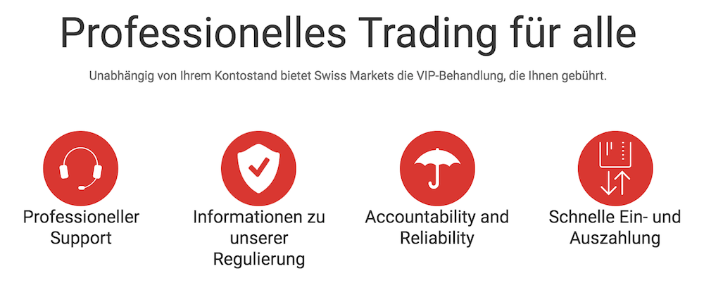 Swiss Markets Trading