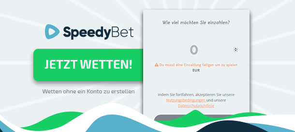 SpeedyBet Sport Registrierung