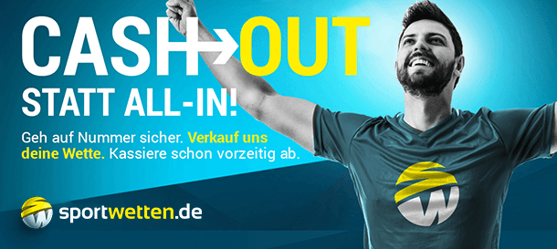 Sportwetten.de Cash Out statt All In!