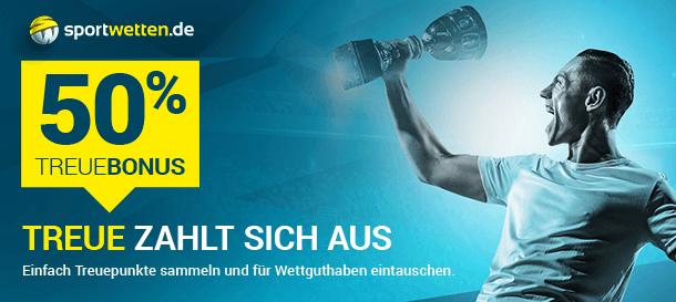 Sportwetten.de Extra Treue Bonus