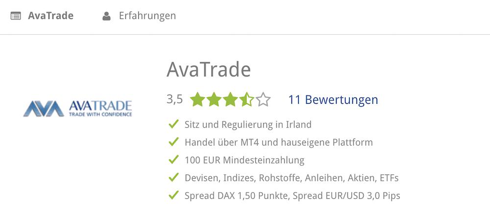 AvaTrade BrokerDeal