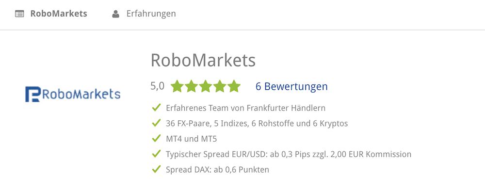 RoboMarkets BrokerDeal