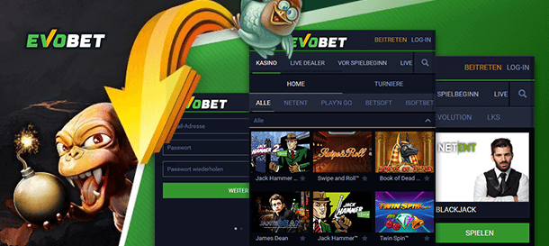 Evobet Casino Mobile App