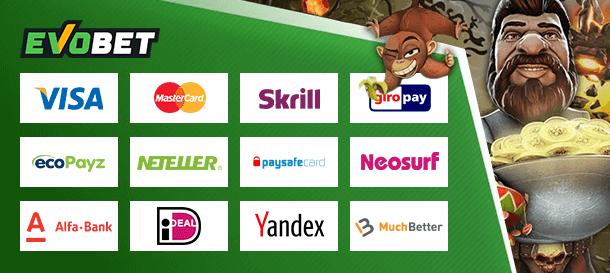 Evobet Casino Zahlungen