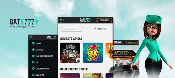 Gate777 Casino Mobile App