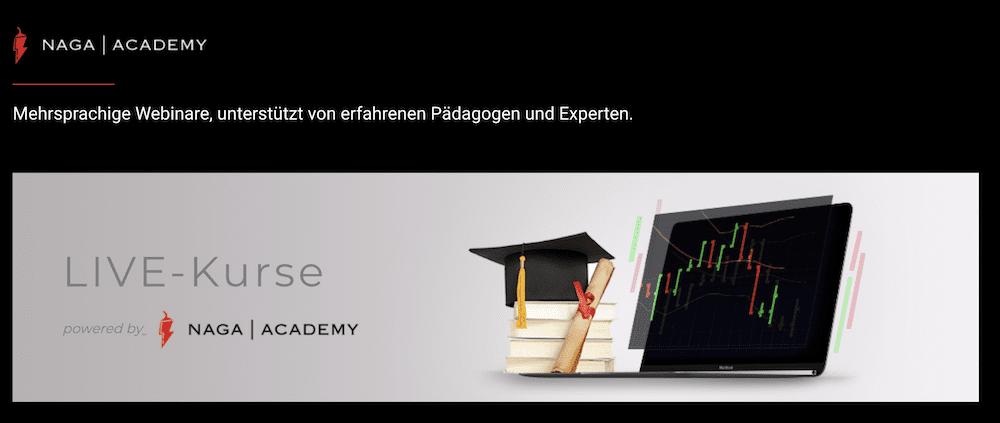 NAGA Markets Bildung
