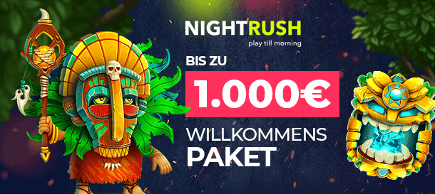 NightRush Casino Bonus