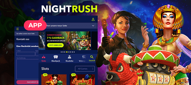 NightRush Casino App