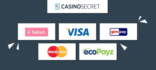 CasinoSecret Zahlungen
