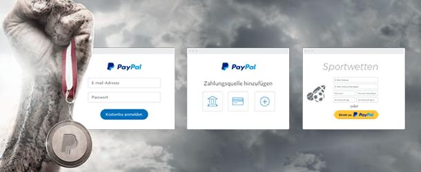 Beim Sportwettenanbieter mit PayPal zahlen