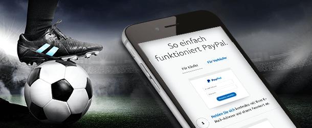 Wetten mit PayPal im Internet
