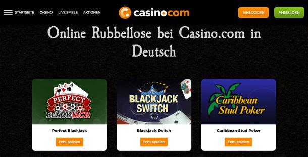 Casino.com Rubbellose