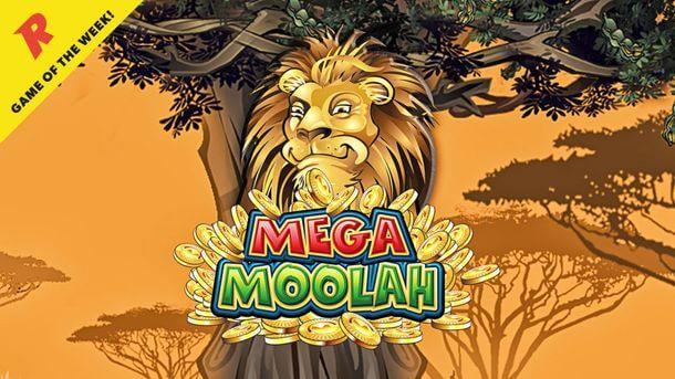 Mega Moolah Spiel des Monats bei Rizk Casino