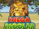 Mega Moolah Logo des Spiels