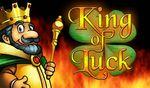 King of Luck Online Casino Slot Logo