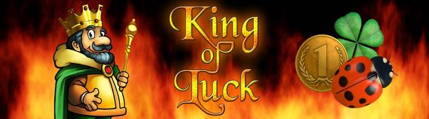 King of Luck Slot Banner