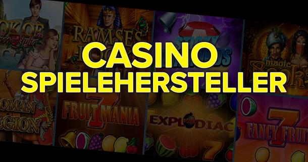 Casino Spielehersteller 2021