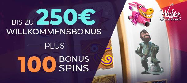 WinStar Casino Neukundenbonus