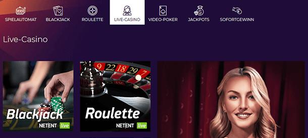 WinStar Casino Live Casino & Live Dealer