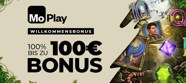 Moplay Casino Bonus für Neukunden