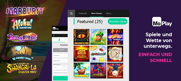 Moplay Casino Mobile App