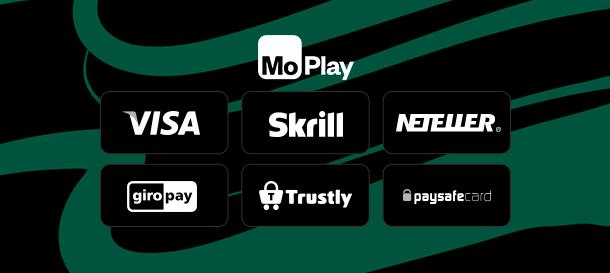 Moplay Casino Zahlungen