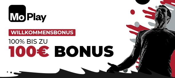 Moplay Bonus für Neukunden