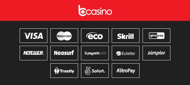 bCasino Zahlungen