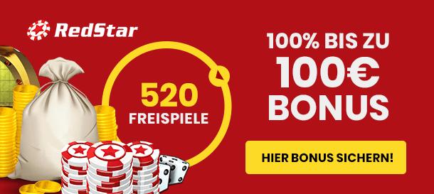Red Star Casino Bonus für Neukunden