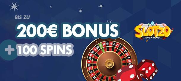 Slotzo Casino Bonus