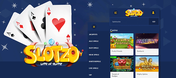 Slotzo Casino Mobile App