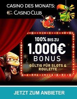 CasinoClub Casino des Monats