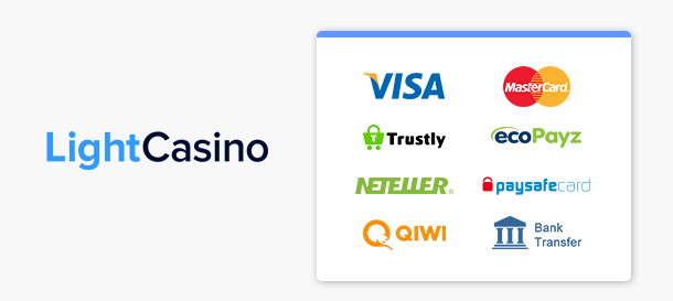 LightCasino Zahlungen