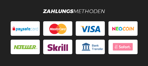 NEO.bet Zahlungsarten