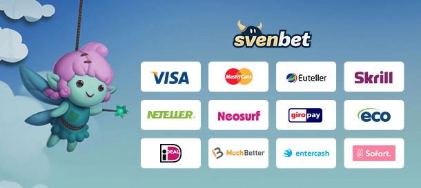 SvenBet Casino Zahlungen