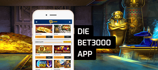 Bet3000 Casino App