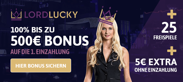 Lord Lucky Casino Bonus