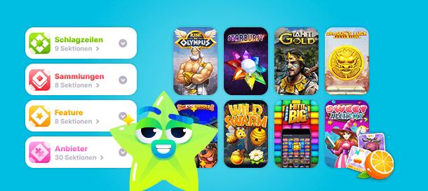 Nomini Casino Spiele