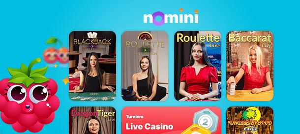 Nomini Casino Livecasino