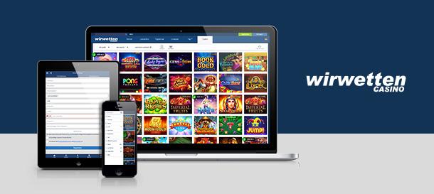 WirWetten Casino Mobile App