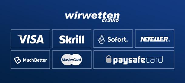 WirWetten Casino Zahlungen