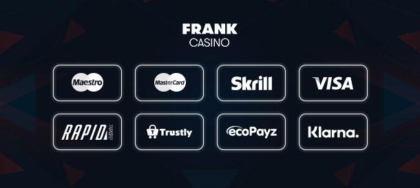 Frank Casino Zahlungen