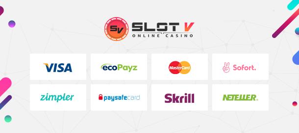 SlotV Casino Zahlungen